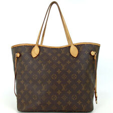 Authentic LOUIS VUITTON M40156 Monogram Neverfull MM Tote Bag PVC/leather[Used]