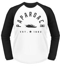 Papa Roach Est 1993 T-Shirt Manica Lunga Unisex Size Taille XXL PHM