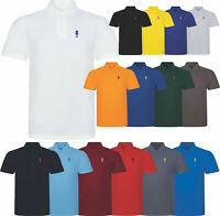 New Polo Shirt Short Sleeve Horse Fish Designer Pique Casual Golf Polo Shirt