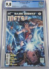 DC Dark Nights Metal #5 Tony Daniels Variant Cover CGC 9.8 Batman Who Laughs