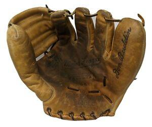 Vintage Don Buddin Major League Velvotan Baseball Glove 1950s RHT Red Sox Tigers
