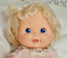 "13"" Vintage 1985 Upsy Baby doll by Kenner in original clothes."