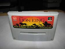 Disney's The Lion King Super Famicom SFC Japan import