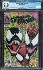 Amazing Spider-man #363 CGC 9.8 White 3rd Carnage app Venom 1992