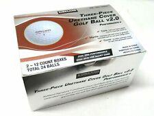KIRKLAND Signature V2.0 Three-Piece Urethane Cover Golf Ball 24 BALLS New N Box