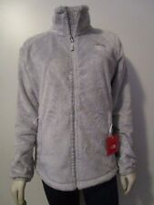 NWT Womens The North Face TNF Osito 2 Soft Fleece Full Zip FZ Jacket Lunar Ice