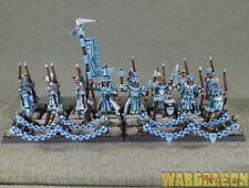 25mm warhammer WDS painted Bretonnia Peasant Bowmen q90
