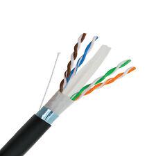 305m Solid Copper CAT 6 UTP Cavo di rete esterna all/'aperto in sotterraneo Ethernet