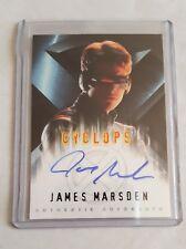 X-MEN (2000) MOVIE AUTOGRAPH AUTO CARD - JAMES MARSDEN AS CYCLOPS BY TOPPS