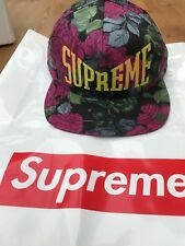 Supreme 5 Panel Floral Unisex Baseball Cap SS18H39