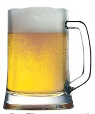 Set of 2 Large Beer Glasses. 2 Pasabache Beer Tankards 500ml