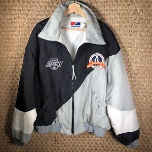 Vintage 90s LA Kings Stanley Cup NHL Hockey Swingster Windbreaker Jacket Gretzky