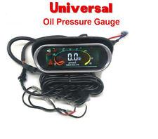 12v/24v Truck Car Oil Pressure Gauge Engine Oil Pressure Meter Monitor Displayer