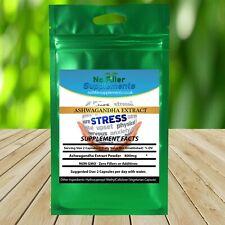 NoFillerSupplements Ashwagandha Extract Veggi Capsules