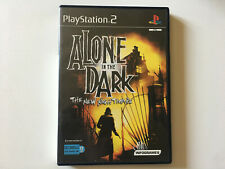 alone in a dark the new nightmare PS2 boite et notice