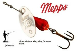 Mepps XD Silver blade  with red body