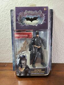 DC Dark Knight Batman Begins with Crime Scene Evidence Action Figure Mattel