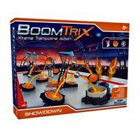 Kids Learn Goliath Boomtrix - Kinetic Metal Ball Chain Reaction Stunt Kit -STEM