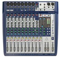 SOUNDCRAFT - SIGNATURE 12 CONSOLE DE MIXAGE ANALOGIQUE 12 VOIES USB