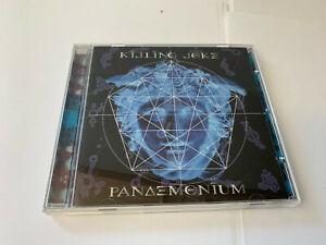 Pandemonium Killing Joke (CD, Remastered, Jun-2005, Cooking Vinyl) 12 TRK [B14]