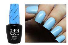 OPI Gelcolor Alice THE I'S HAVE IT Light Powder Blue UV/LED Gel Nail Polish BA1