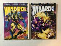 Wizard Magazine Lot: 19 & 20 Wolverine Maxx 1993