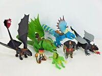 How to Train Your Dragon Figures Toothless Stormfly Crusher Defenders of Berk