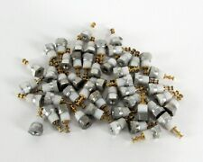 Lot Of 50 Amphenol 1471b 9 Metal Screw Mounted Insulated Turrets