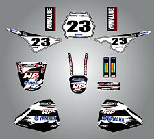 Yamaha PW 80 1999 - 2014 Full Graphic kit Safari Style Stickers Pee Wee 80 decal