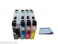Refillable ink cartridge for Brother LC103 LC101 MFC-J470DW MFC-J475DW  MFC-J870