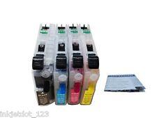 Refillable ink cartridges for Brother LC103 MFC-J450DW J6520DW J6720DW J6920DW