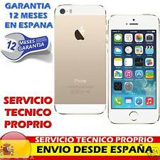 Telefono Movil Original Apple iPhone 5S 16GB Libre / A++ / Dorado / Sin Touch ID