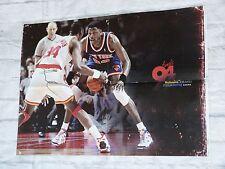 Poster ROCKETS DE HOUSTON signed HAKEEM OLAJUWON basket signé NBA