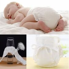 Soft Gauze Cotton Baby Waterproof Adjustable Reusable Cloth Diaper Nappies Wash