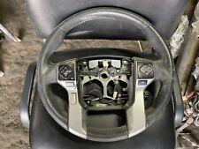2016 Toyota 4Runner Steering Wheel Black Leather OEM