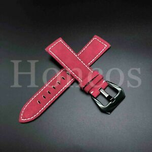 18-24mm Premium Genuine Leather Watch Band Strap Bracelet for Fossil Watch 2021