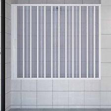Box sopra vasca bagno parete 140 cm apertura laterale scorrevole in acrilico