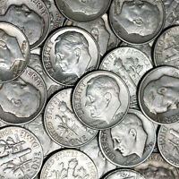 8 OUNCE LOT Mixed U.S. Junk Silver Coins ALL 90% Silver 1964 and Previous