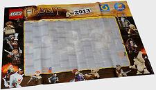 Poster Lego Hobbit Kalender 2013 poster calendar calendrier calendario kalendarz