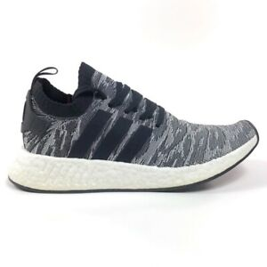 Adidas NMD R2 PK Zebra Primeknit Ultraboost Boost Mens 8.5 Shoes Sneakers BY9409