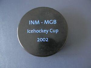 INM-MCB ICEHOCKEY CUP 2002  Hockey Puck