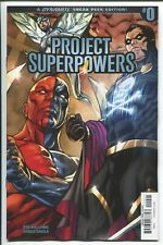 PROJECT SUPERPOWERS #0 SERGIO DAVILA SNEAK PEEK INCENTIVE VARIANT COVER D - 1/30