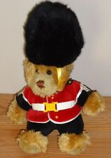 "British Soldier Bear 10"" plush Queen's Guard by Keel Toys"