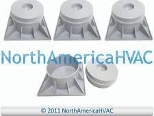 "4x 3"" HVAC 2 Piece HEAT PUMP CONDENSER RISER STANDS 93602 HPR-3-2P"