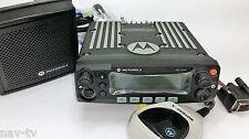 Motorola XTL2500 7/800MHz radio Dash mount, acc, Antenna 90 day warranty aligned