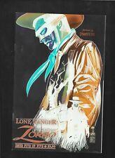 Lone Ranger Death of Zorro 5 2011 Francesco Francavilla Negative Effect Variant