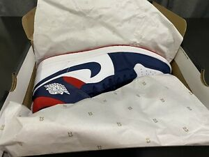 Nike Air Jordan 1 Mid SE 'Olympic' USA 'Sz 14 2020) Red/White/Blue 852542-104