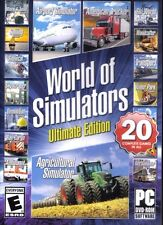 World Of Simulators Ultimate Edition PC Games Windows 10 8 7 airport trucker bus