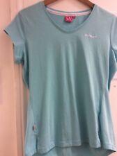 Pale green short sleeve ladies sports top by LA Gear size size 14