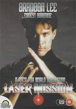 LASER MISSION BRANDON LEE (BRUCE LEE) OOP MARTIAL ARTS ACTION THRILLER KUNG FU